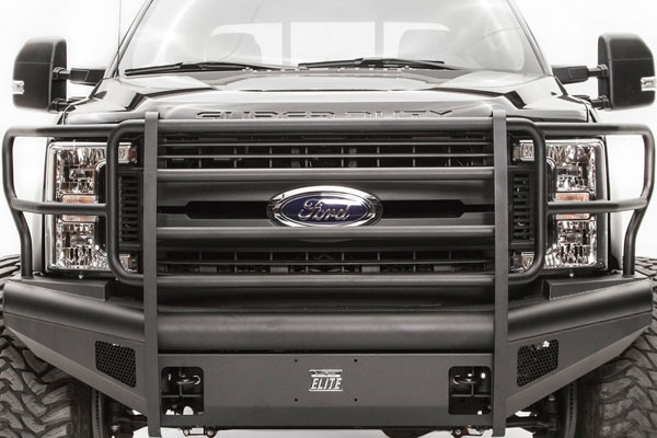 Fab Fours Black Steel Elite Bumpers for Ford | 4WheelOnline com