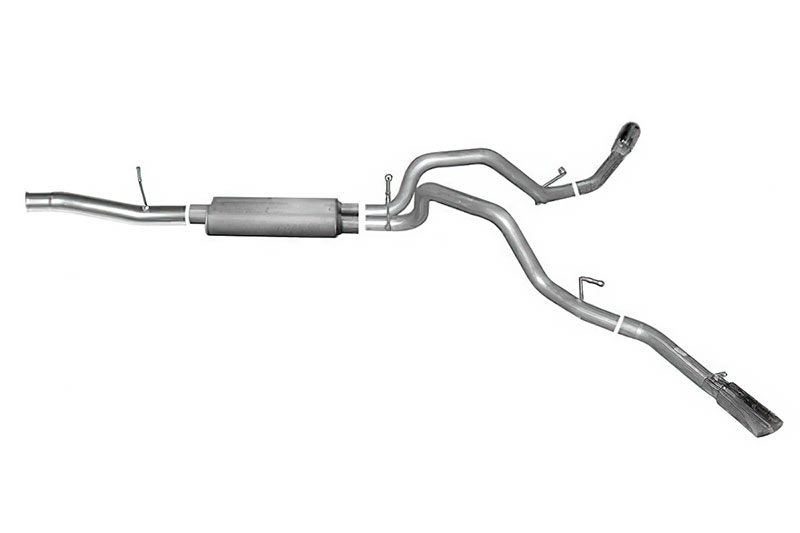 gibson dual sport exhaust system for 2002