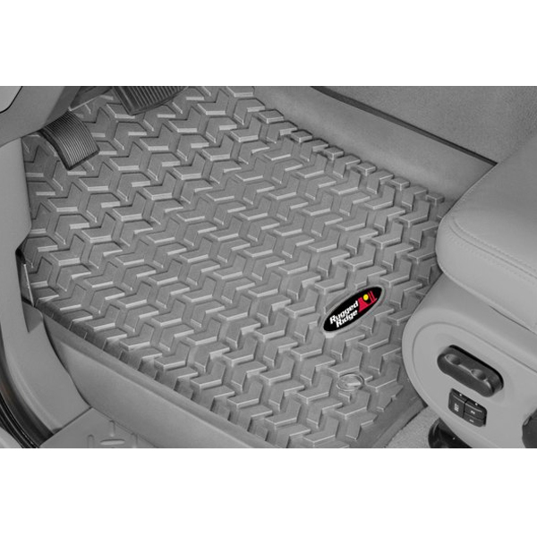 Rugged Ridge Floor Mats F150 Rugged Ridge All Terrain Front Floor Liners for 2001-2003 ...
