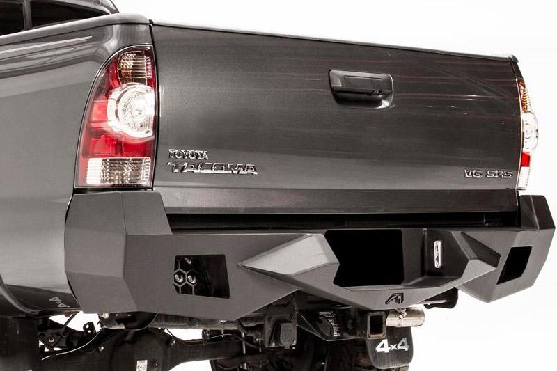 fab fours vengeance rear bumper for 2005 2015 toyota tacoma. Black Bedroom Furniture Sets. Home Design Ideas