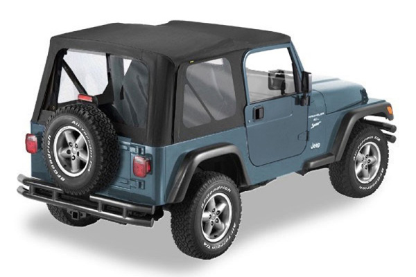 how to clean cloudy soft top windows