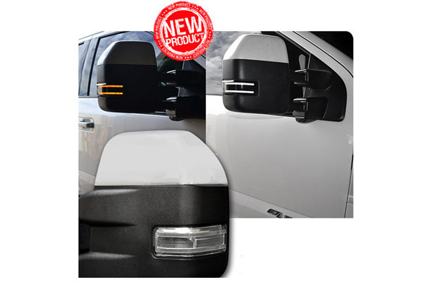 Recon Side Mirror Lenses For 2017 2018 F250 F350 F450