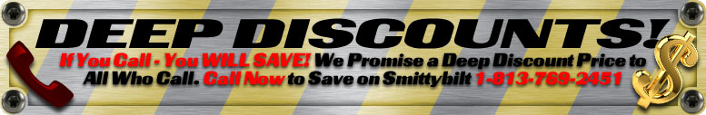 Call in Smittybilt Orders to Save More