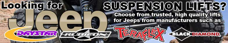 jeep suspension lifts