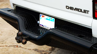 Tough Country Deluxe Rear Bumper for Chevy