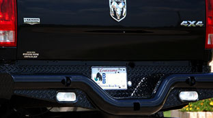 Tough Country Deluxe Rear Bumper for Dodge