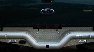 Tough Country Deluxe Rear Bumper for Ford