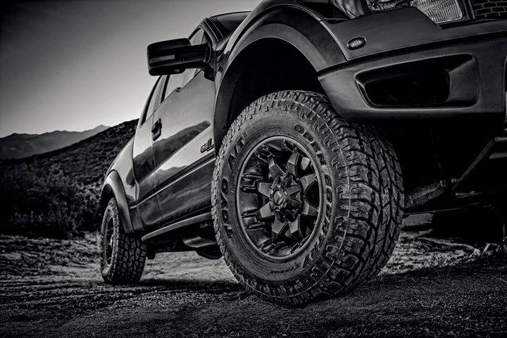 Up close with Toyo truck tires