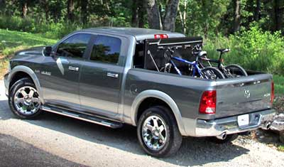 No other folding hard tonneau cover gives you full access to the cargo area.