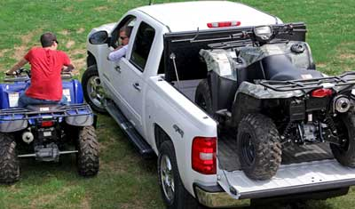 With Undercover Flex Cover no cargo space utility is lost, pack in the heavy duty hardware and get going.