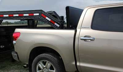 Gooseneck Trailer? No Problem.  Undercover Flex Cover is the only tonneau cover to consider if you need to tow gooseneck or 5th wheel trailers.