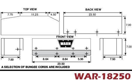 warn winch soft winch covers 4wheelonline com rh 4wheelonline com Warn M10000 Warn Winch
