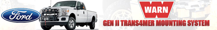 Gen II Trans4mer Winch Mounting System Ford