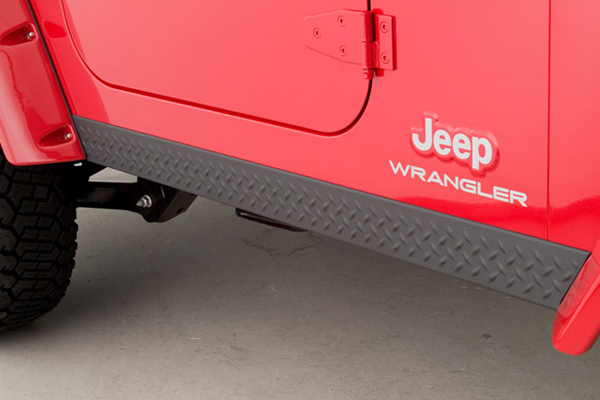 Bushwacker Trail Armor Rocker Panel Tj Wrangler