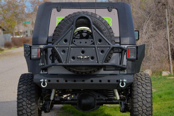 Dv8 Offroad Tc 1 Tire Carrier 07 17 Jk 4wheelonline Com