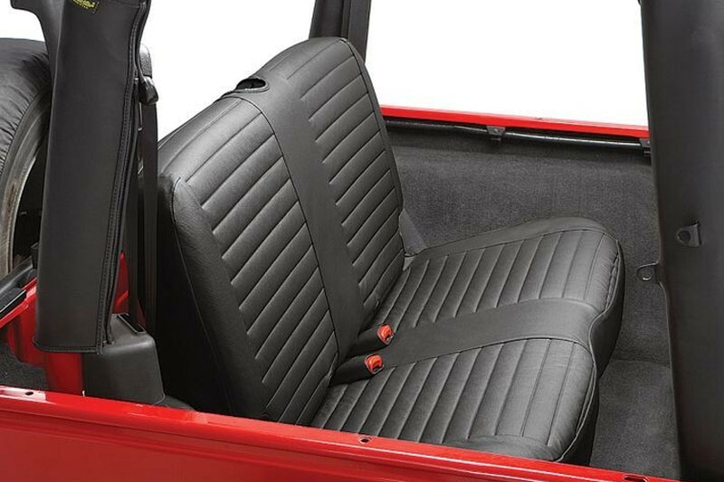 Bestop Jeep Rear Bench Seat Cover 1997 2002 Jeep Wrangler