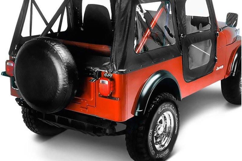 Jeep CJ5 1976 1983   1976 83 CJ 5; Replace A Top™ Black (01)