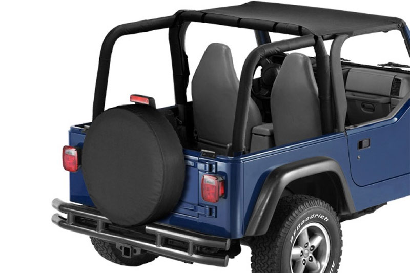 Jeep Wrangler 1997 2002   1997 02 Jeep Wrangler; Header Bikini® Black Denim  (15)