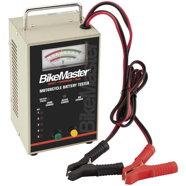Motorcycle Battery Load Tester : Bikemaster battery tester wheelonline